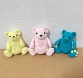 PALMy Bear | クマ あみぐるみ