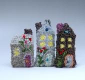 フックドラグで作る小物*お家のサシェ