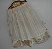 オーバーSK&ティアードスカート