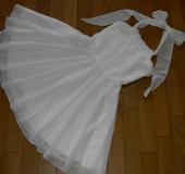 ホワイトドレス ☆ラメ☆
