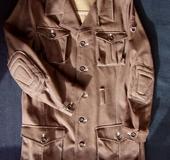 デニムロングジャケット