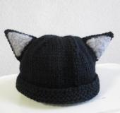 ねこみみニット帽(赤ちゃん用)