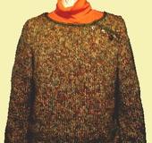グリーン系*レトロチックセーター