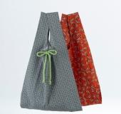 手縫いで作る レジ袋型エコバッグ