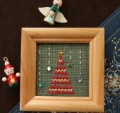 クリスマスのミニ額