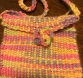 ミニ織りで織ったミニポシェット