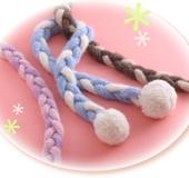 ワンダーリリアンで作る三つ編みマフラー