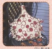 スラッシュキルトのラグ風バッグ