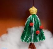 クロバータッセルメーカーラージ で つくる クリスマスツリー