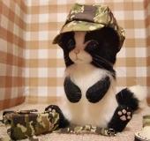 羊毛フェルト 猫 帽子 靴 リュック
