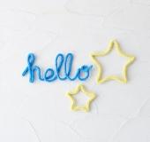 ワンダーリリアンでつくるウールレター~hello・星~