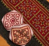 苗族刺繍柄のビスコーニュ