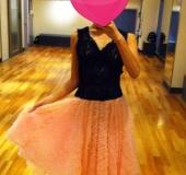 パーティー用(・ω・)ダンスドレス♡