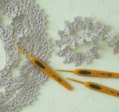 かぎ針「ペン-E」で編む エジングとブレード
