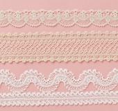 ヘアピンレース「ミニ」で編む 繊細でエレガントなブレード3種