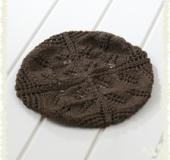 クンスト編み風帽子