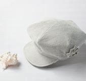 クイック帽子テンプレートで作る マリンなキャスケット
