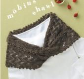 輪針「匠」メビウス針で編む メビウス編みショール