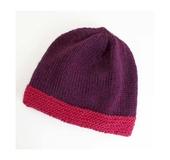 帽子(紫)